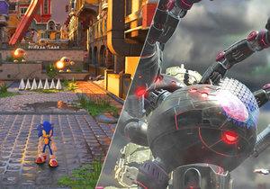 Sonic Forces není dokonalá hopsačka, ale fanoušky modrého bodlináče podle nás potěší.