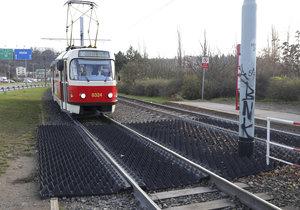Výluka tramvají od Dvorců po Modřany: Práce omezí provoz mimo špičku
