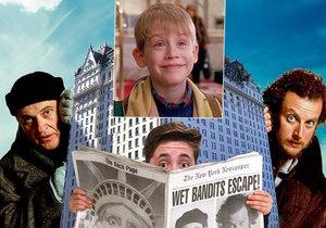 Hotel Plaza nabízí pobyt inspirovaný Kevinem z filmu Sám doma 2.