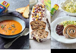 Vykouzlete pro rodinu menu ze zimních receptů, které zahřejí na těle i na duchu.