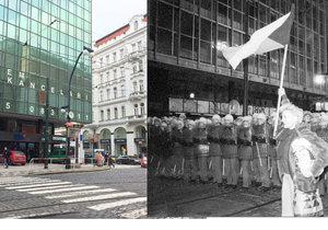 Národní třída se od sametové revoluce změnila. Na některých místech více, na dalších méně.