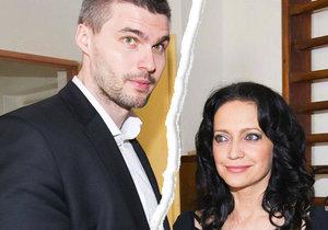 Lucie se rozešla se svým milencem Radkem Filipim.