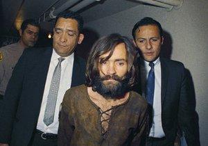 Charles Manson na snímku z roku 1969