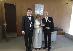 Nejstarší svatba na Praze 6