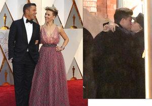 Čerstvě rozvedená Scarlett Johansson už má za muže náhradu! S milencem přistižena při líbačce.