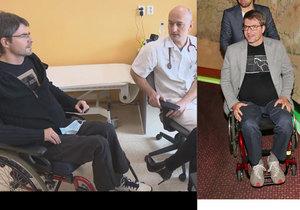 Ochrnutý Michal Jančařík si od lékařů nevyslechl dobré zprávy.