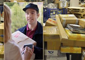 Nákupní šílenství vrcholí: Pošta denně doručí 300 tisíc balíků. A bude jich ještě víc