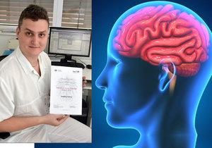 Neurolog Ondřej Volný z Fakultní nemocnice u svaté Anny v Brně přišel na novou metodu zobrazení mozku, která pomůže rychleji odhalit mrtvici.