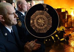 Hašení požárů není rutina, říká Jan Procházka, jenž za svou službu dostal vyznamenání.