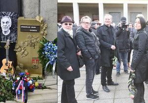 Oldřich Vízner s Vendulou Křížovou se setkali po rozchodu na pohřbu Wabiho Daňka.