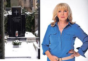 Hana Zagorová koupila hrob.