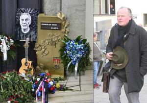 Igor Bareš na pohřbu Wabiho Daňka (†70): Ostrá kritika a politický skandál!