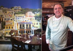 Majitel a šéfkuchař Ioannis Asarlidis vede autentickou řeckou restauraci v Praze přes 12 let.
