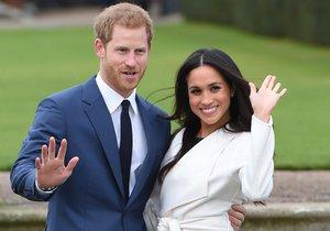 20 let po smrti lady Di požádal Harry Meghan o ruku na místě, které milovala. Vezmou se v květnu příštího roku na hradě Windsor.