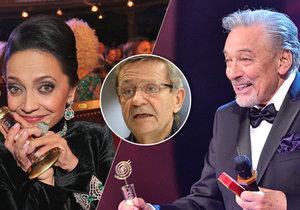 Karel Gott i Lucie Bílá se vyjádřili ke kauze kolem neférových hlasů v anketě Český slavík.