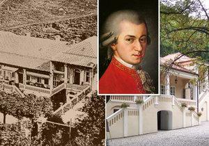 """""""Mozartova"""" vila Bertramka je národní kulturní památkou. Nový status jí má pomoci s financováním"""