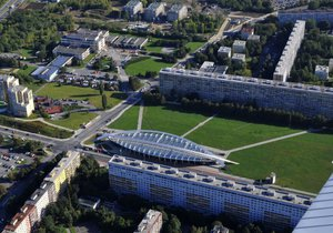 O toto území kolem metra Střížkov se rozšíří vyhlášený park Přátelství. (ilustrační snímek)