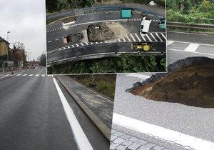 Na vysočanské estakádě finišují opravy, opět na silnici, kde byla obří díra, vjedou auta.
