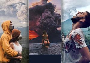 Chrlící sopka Agung se stala novou turistickou atrakcí.