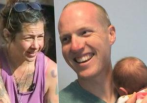 Našel ji těhotnou a na heroinu: Policista adoptoval dítě drogově závislé bezdomovkyně.