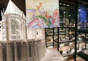 Dům U Zlatého prstenu představuje jedinečnou expozici o středověké Praze.