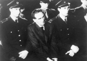 Rudolf Slánský během procesu