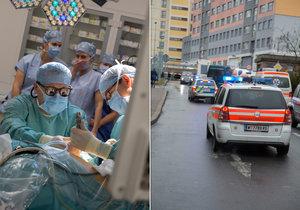 Lékařům z IKEM a rakouské nemocnice se povedla unikátní transplantace.