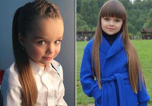 Anastasia Knyazeva je krásná holčička.