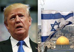Americký prezident Donald Trump chce vyhlásit Jeruzalém jako hlavní město Izraele.
