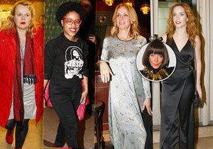 Františka se podívala na celebrity, které navštívily premiéru snímku Milada