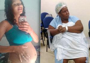 Žena, která potratila miminko, vyřízla nenarozené dítě osmnáctileté dívce z břicha.