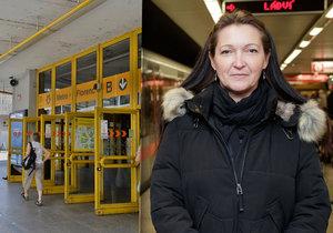 Dáša (47) z kolejiště metra vytáhla muže: Ostatní dělali, že se jich to netýká, řekla Blesku