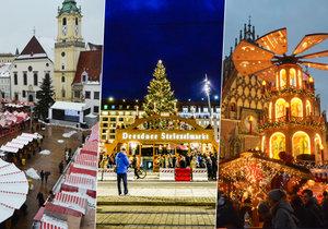 Zažijte kouzlo Vánoc na nejkrásnějších trzích v Evropě!