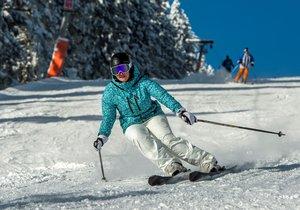Takto se lyžuje ve SkiResortu ČERNÁ HORA - PEC