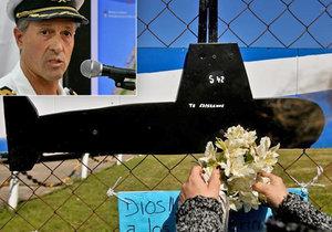 Argentinské námořnictvo ukončilo záchrannou akci, nyní hledají vrak ponorky.