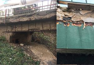 Praha 6 se zaměřila na kontroly mostů a lávek: U Marjánky jsou v katastrofálním stavu
