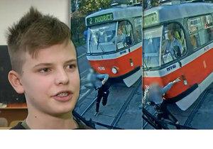 Patrik (13), který přežil srážku s tramvají, promluvil: Slyšel jsem cinkání a pak přišel náraz