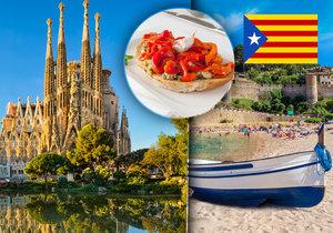 Katalánsko, oblast vklíněná mezi Španělsko a Francii, po léta platí za jednu z nejpřitažlivějších turistických oblastí Evropy.