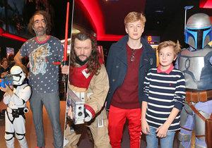 Celebrity na premiéře Star Wars: Poslední z Jediů