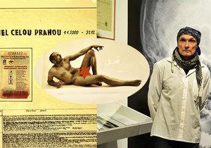 Luboš Plný představuje svá originální, vtipná a badatelská díla v Centru současného umění DOX.