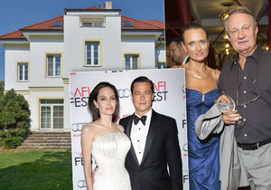 Tajemství vily, kterou prodávají manželé Adamcovi: Chtěli tu bydlet Pitt s Jolie!