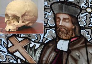Podle přesného 3D modelu lebky chtějí nepomučtí zrekonstruovat pravou podobu tváře sv. Jana Nepomuckého.