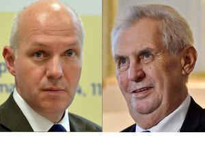 Prezidentský kandidát Pavel Fischer poslal Miloši Zemanovi dopis s apelem.