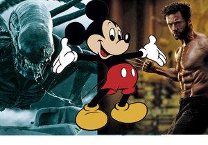Disney získá koupí 21st Century Fox práva na filmové série jako Vetřelec nebo X-Men.