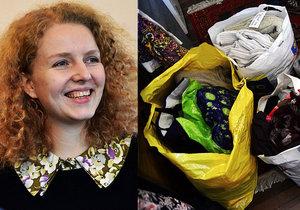 Darujte teplo, prosí Eva Pražany. Sbírá čepice a kabáty pro bezdomovce.