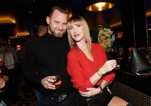 Dominika Mesarošová s přítelem Tomášem
