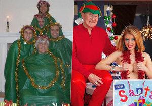 Podívejte se, na ty nejtrapnější fotky z Vánoc.
