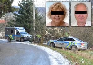 Policie na popravu v Jihlavě uvalila embargo: Blančin manžel prý vyhrožoval smrtí všem ve svém okolí!