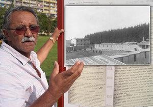 Že Češi vraždili Romy v Letech, bylo dlouho tabu, řekl aktivista bojující za odstranění vepřína.