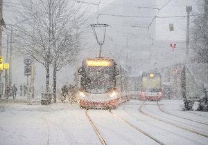 Prahu čeká další studený týden. Podle meteoroložky by do hlavního města mohl zavítat i první letošní sníh. (ilustrační foto)